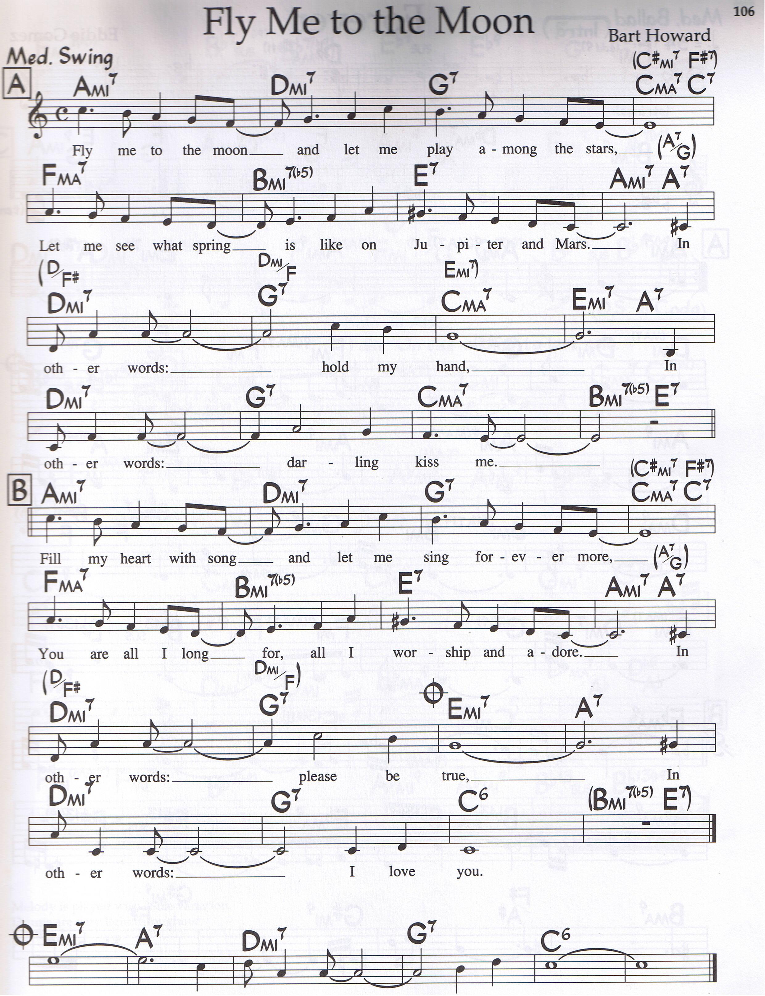 Piano chords keys